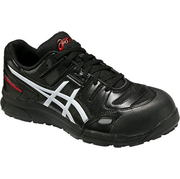 送料無料【アシックス】安全靴 ウィンジョブ®CP103 FCP103-9001 セーフティーシューズ ブラックxホワイト ウィンジョブR asics