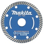 makita【マキタ】波型 ダイヤモンドホイール 外径125mm A-03408 適正記号F