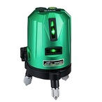 送料無料【KDS】 リアルグリーンレーザー 墨出器 ATL-100RG 本体+収納ケース たちライン・水平ライン
