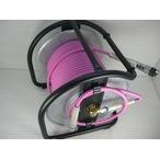 【マッハ】高圧ドラム PKD-530C 超ソフト高圧ホース付 ピンク