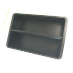 【リングスター】ドカット D-5000用中皿1個 ブラック 大型収納可能道具箱の中皿 2個並べて使用可能