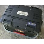 NEW【リングスター】大型工具箱 ドカット D-5000 オリジナルカラー 本体マットブラック/ 蓋ブラック/黒バックル 中皿が小さくなりました。