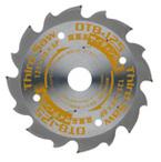 ワカイ オールダイヤチップソー サードソー DT8-125 125mm 8P 内径20㎜ 切幅1.6㎜ フルダイヤモンド